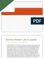Thomas Hobbes Dan Keadilan