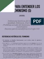 FEMINISMO(S)