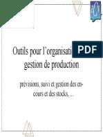 Organisation Et Gestion s Industriels Cours 02 Outils