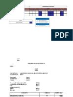 CRONOGRAMA DE monitoreo