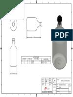 plano botella de nitroglicerina