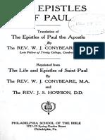 New Testament Epistles of St. Paul & Hebrews - Conybeare & Howson