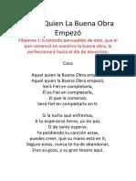 Aquél Quien La Buena Obra Empezó.docx