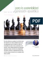 Guibert, J.M., 2015, Decálogo sostenibilidad organización apostólica
