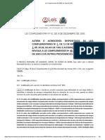 3. Lei Complementar 42 2005 de Salvador BA Gratificação Defesa Civil