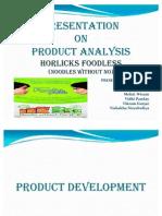 Presentation on Horlicks Foodles
