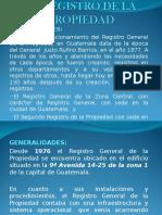 LIBRO IV EL REGISTRO DE LA PROPIEDAD ACT