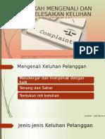 Kel IV Mengenali dan Mengatasi Keluhan Pelanggan.pptx
