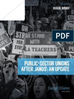 Public-Sector Unions After Janus - An Update