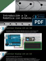 Taller de Arduino Display LCD con I2C