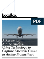 Recipe Airline Success