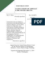 MAI v. UNITED STATES Ninth Circuit 2a Involuntary Mental Commitment
