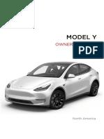 Tesla Model Y Owners Manual North America (English)