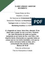 ALCANCANDO A CIDADE