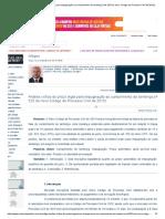 Análise crítica do prazo legal para impugnação ao cumprimento de sentença (Art. 525 do novo Código de Processo Civil de 2015) - Artigos - Conteúdo Jurídico.pdf