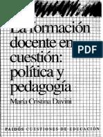 Davini La Formacion Docente en Cuestion Politica y Pedagogia.pdf