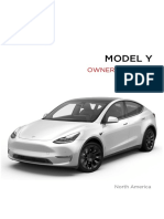 Model y Owners Manual North America En