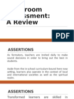 Classroom-Assessment-A-Review