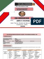 2. PLAN CURRICULAR ANUAL ARTE 3ro