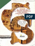 Aique 01 - El Origen de la Europa y  el Mundo Contemporaneo