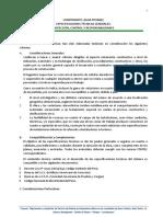 ESPECIFICACIONES TECNICAS AGUA POTABLE- 4C REQUE