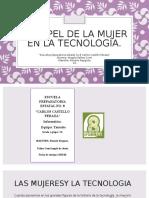 La Mujer y La Tecnologia