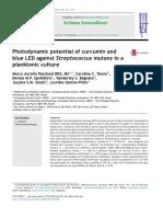 curcumina en steptococcus mutans PDT