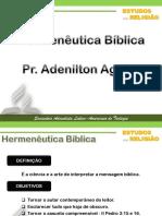 Hermeneutica Adventidta