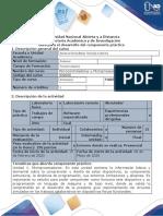 Guía para el desarrollo del componente práctico - Desarrollar el componente práctico Presencial