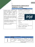 CONTEXTUALIZACION DE PRACTICA  V - ESPECIALIDAD MATEMATICA V..doc