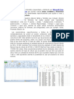 Excel es un programa informático desarrollado y distribuido por Microsoft Corp