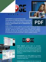 Brochure CLOSE RadioTV