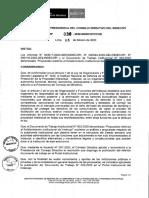Documento de Trabajo Institucional N° 003-2020