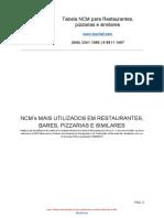 1509728754Sischef_-_Planilha_NCM_produtos_para_restaurantes_e_similares