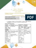 matriz procesos cognocitivos