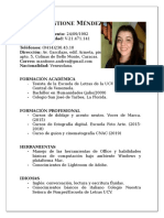 Andrea Mantione CV 2020