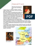 Scheda Riassuntiva Francia Nel XV Secolo