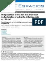 DX DE FALLAS MEDIANTE INTELIGENCIA ARTIFICIAL
