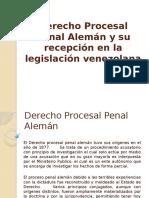 derecho procesal penal aleman