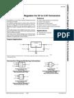 LM3940 1A Low Dropout Regulator for 5V to 3.3V Conversion