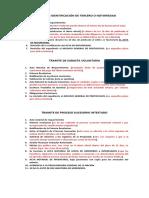 TRAMITE DE IDENTIFICACIÓN DE TERCERO O NOTORIEDAD, SUBASTA VOLUNTARIA, PROCESO SUCERIO INTESTADO