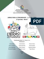 LIBRAS PARA A COMUNIDADE - NIVEL I 2018.1-1