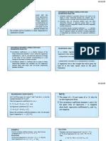 Basic Statistics Regresssion analysis