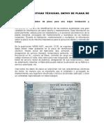 1 Datos Placa de un Motor