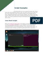 Keerthi Krishna - Linux Shell Script Examples (1)