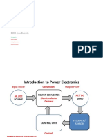 1. Introduction to Power Electronics (1)