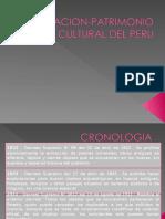 LEGISLACION-PATRIMONIO CULTURAL DEL PERU