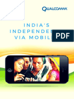India's Independence Via Mobiles