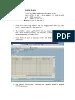 Additive Dosing configuration in SAP