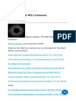 Alison Gopnik WSJ Columns